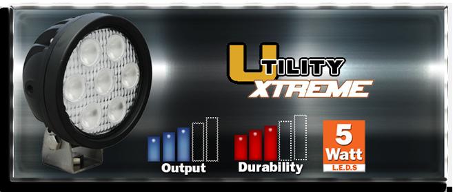 Vision X Utility Xtreme Lights.